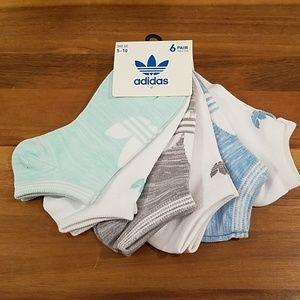 Adidas womens 6pair socks